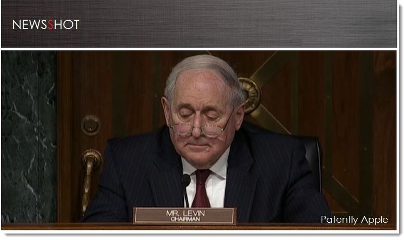 1. Cover, Chairman, Sen Levin, Apple Tax issue