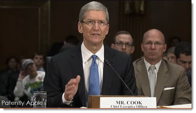 2 CEO Tim Cook at Senate Hearing