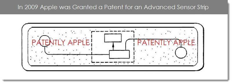 7. Apple Granted Patent for Avanced Sensor Strip in 2009