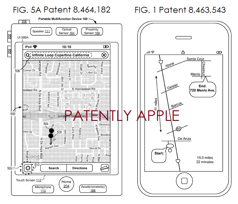 3. Two Granted Patents relating to Maps