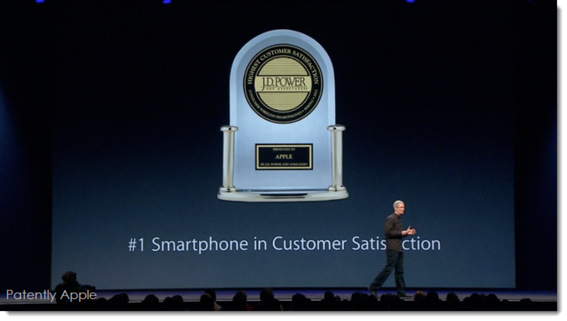 8. J.D. Power Award - iPhone # 1 Smartphone