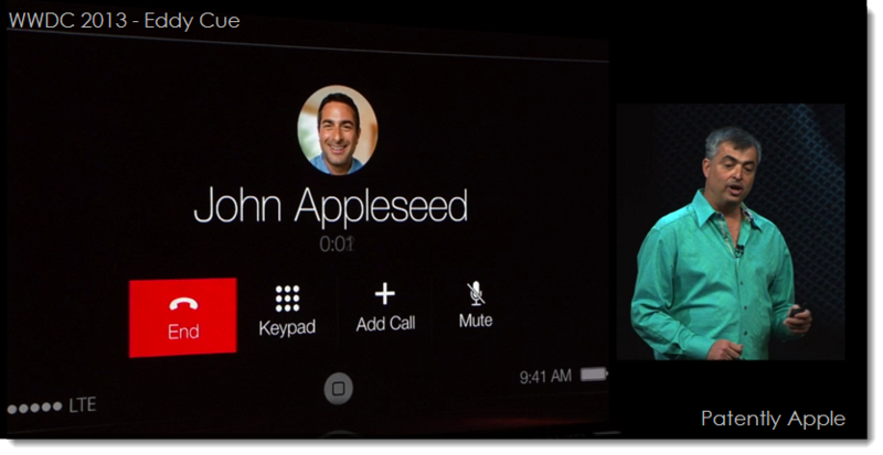 5. WWDC 2013 - Eddy Cue - iOS in the Car - Use Siri to make calls -  Call Johnny Appleseed