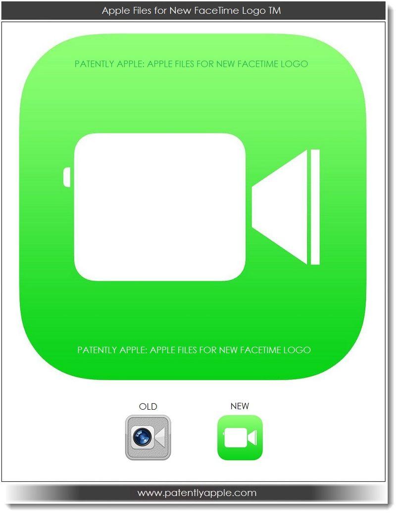 2. Apple Files for New FaceTime Logo TM