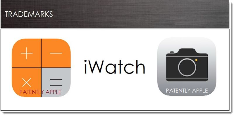 1. Cover - Apple TM Filings July 1, 2013 - iOS 7 Icons + iWatch