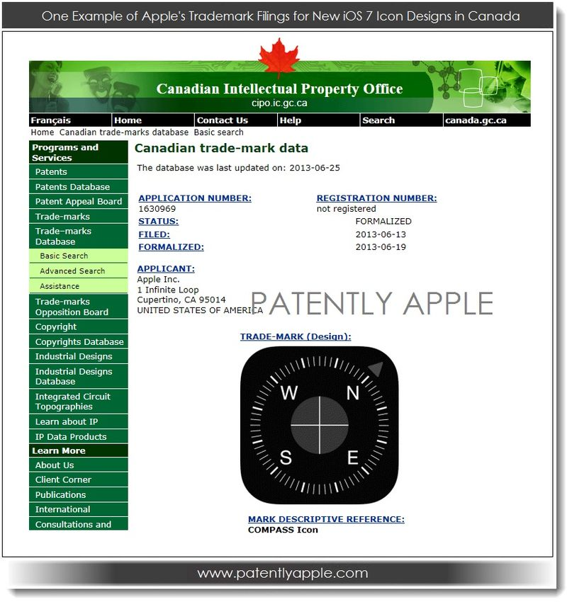 10. EXAMPLE IP FILING IN CANADA FOR NEW IOS 7 ICON DESIGNS