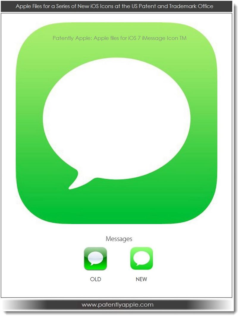 7. Apple's iOS 7 iMessage Icon