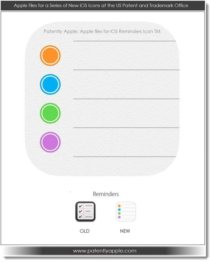 11. Apple's iOS 7 Reminders Icon