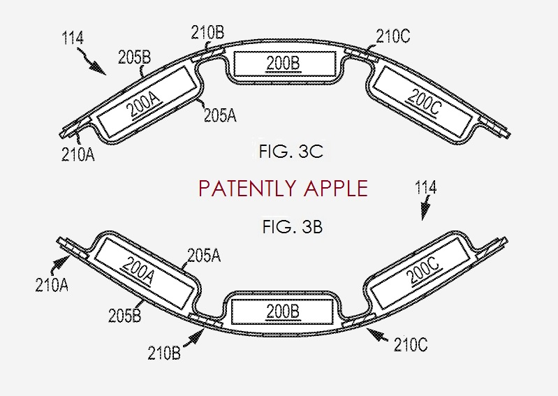 2. Apple invents Flex battery packs
