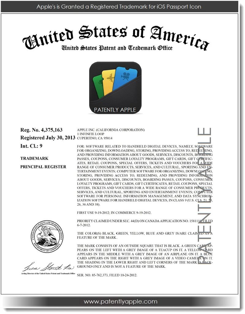 2. - Apple's Passport Icon RTM Certificate