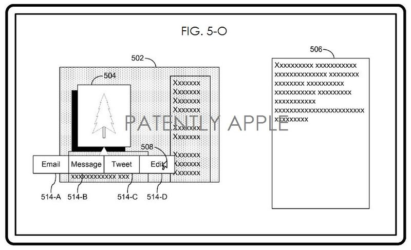 3. Apple patent figure 5-O