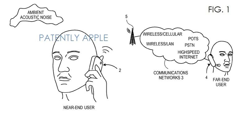 4. Apple Granted patent for noise cancellation for the iPhone