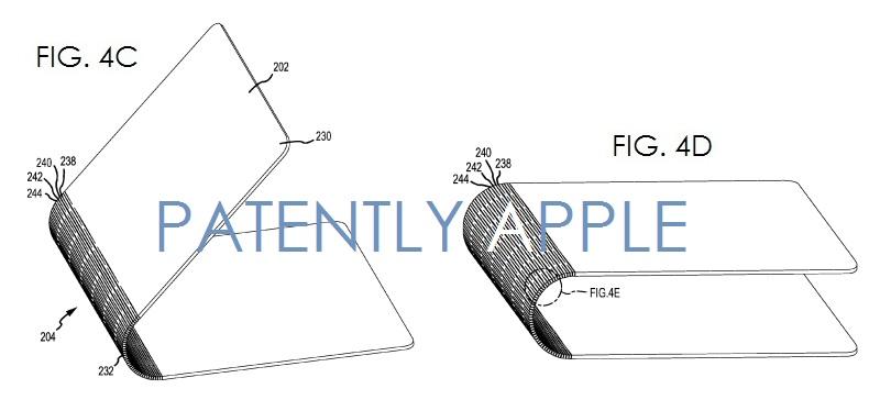 3. Apple patent figs 4c, 4d