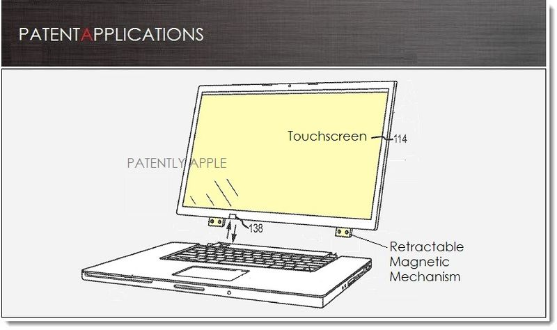 2. Apple Patent, Hybrid Notebook Tablet