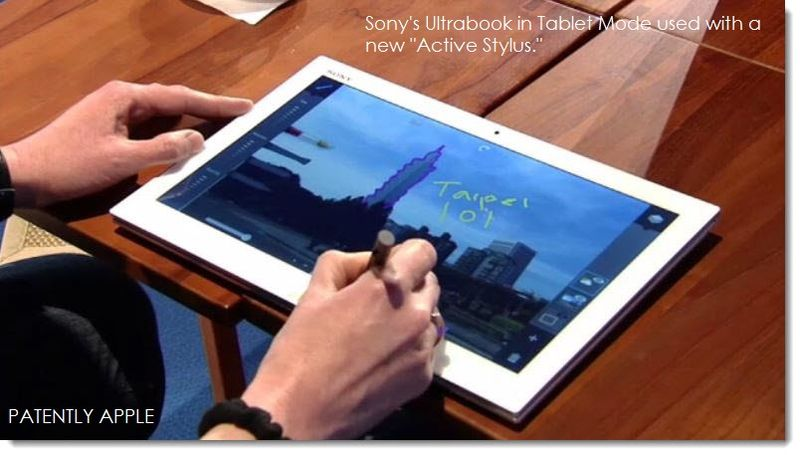 12 Tablet mode with Active Stylus for anotating