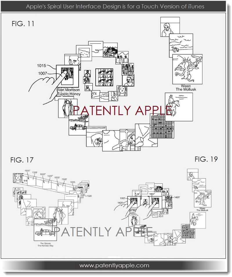 2. Apple's Spiral UI Invention
