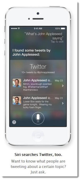 2. Siri - Twitter