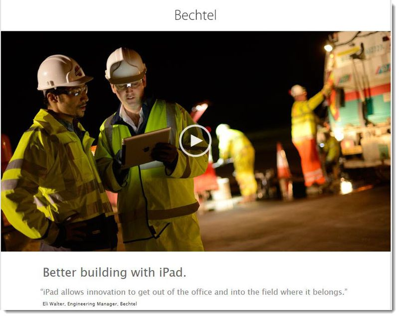 3. Bechtel using iPad
