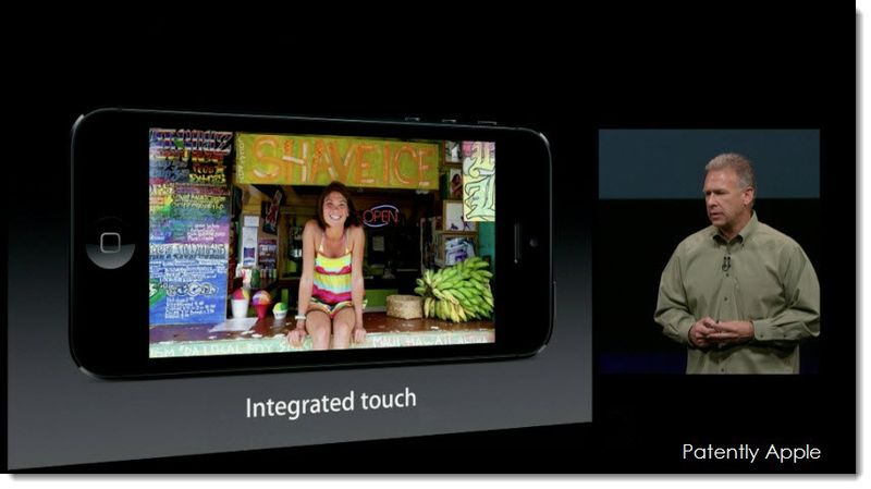 2.  Integrated Touch
