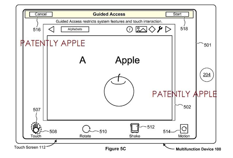 2. Apple Invention about restricting access to full GUI