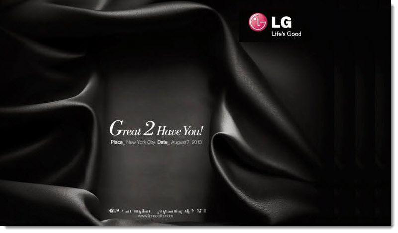3. LG NY DEBUT Aug 7, 2013