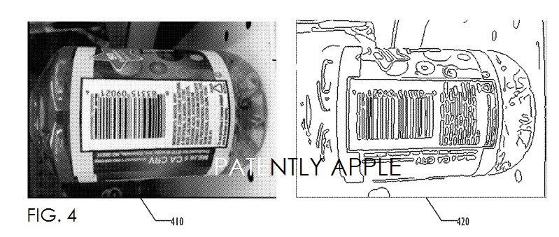 4. Apple patent for robust real-time barcode detection