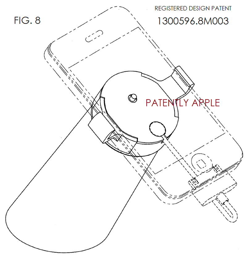 3. Apple Granted Design patent 1300596.8M003 in Hong Kong - FIG. 8