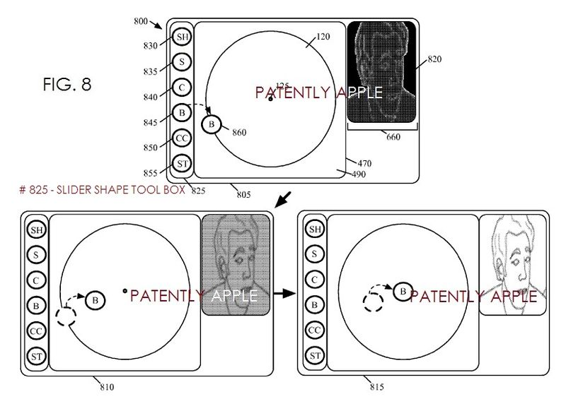 2. Apple patent figure 8 - color correction for brightness