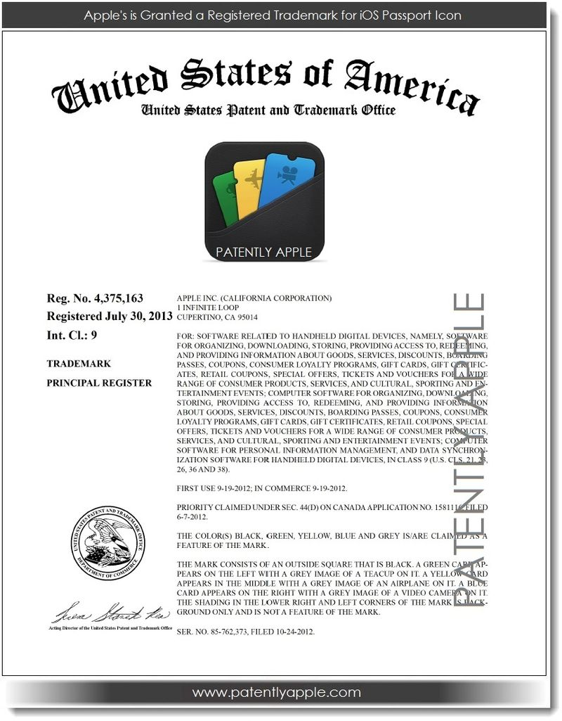 3 - Apple's Passport Icon RTM Certificate