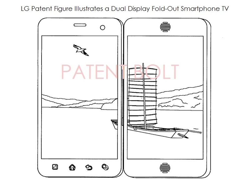 2. LG PATENT FOR DUAL DISPLAY SMARTPHONE FOR MOBILE TV