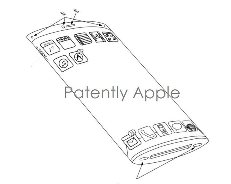 3. Apple iPhone Concept with flexible wrap-around display