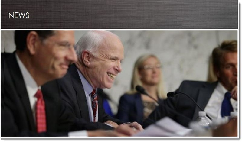 McCain caught playing poker on his iPhone