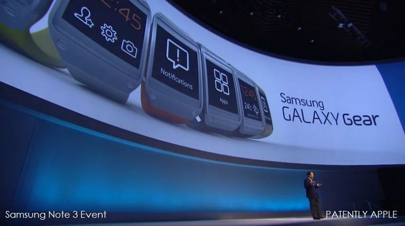 4. Samsung Galaxy Gear