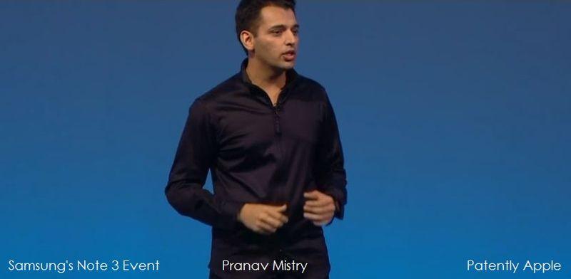 3. Pranav Mistry Gear product intro