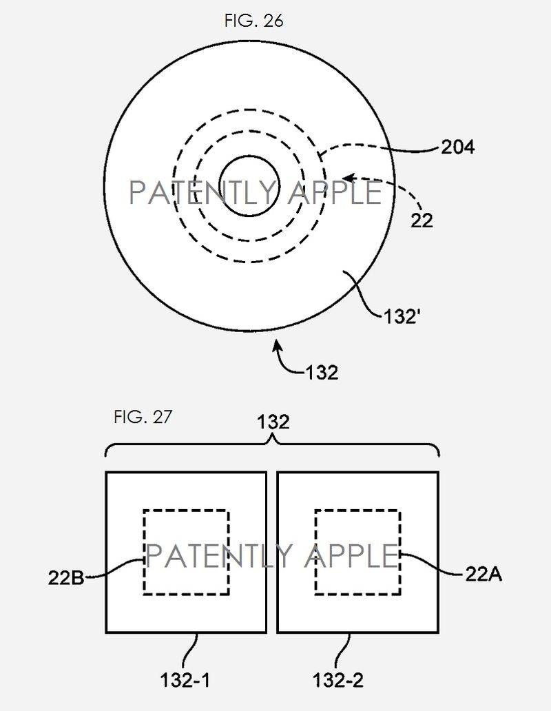7. Apple fingerprint scanner patent figs 26 & 27