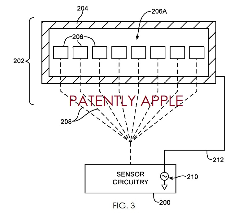 2A - Apple's fingerprnt patent figure 3