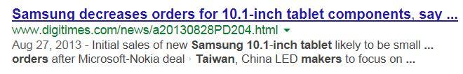 2. Samsung tablet sales small