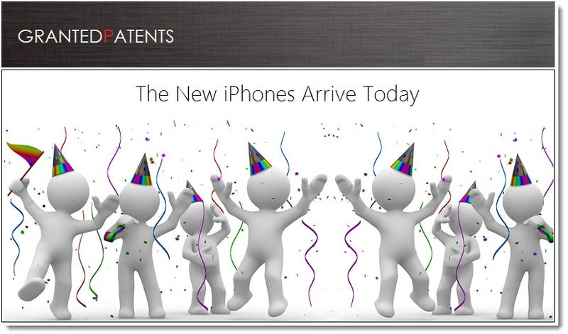 1. Cover Graphic - Patent day + new iPhone day