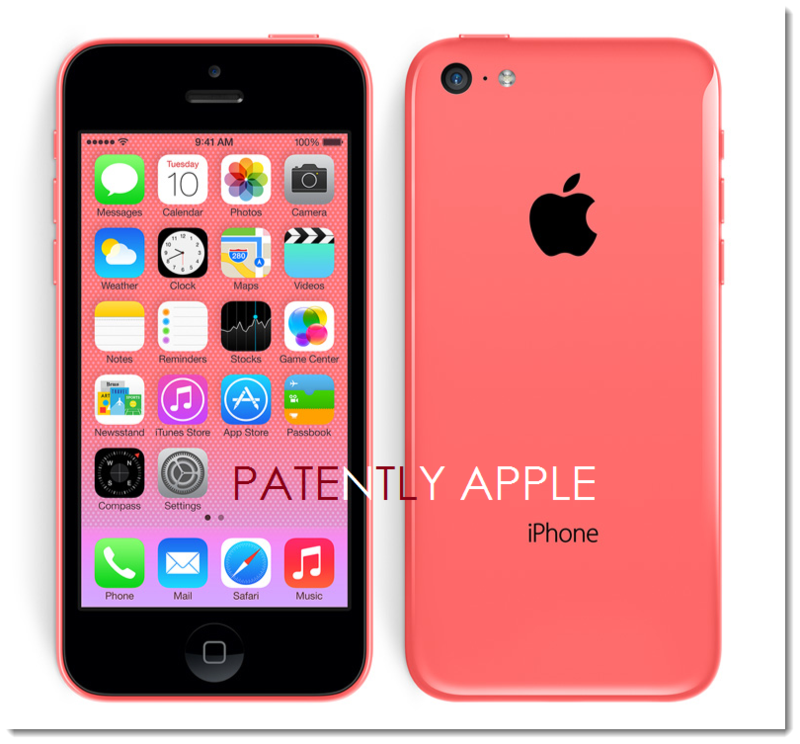 4. new iPhone 5C