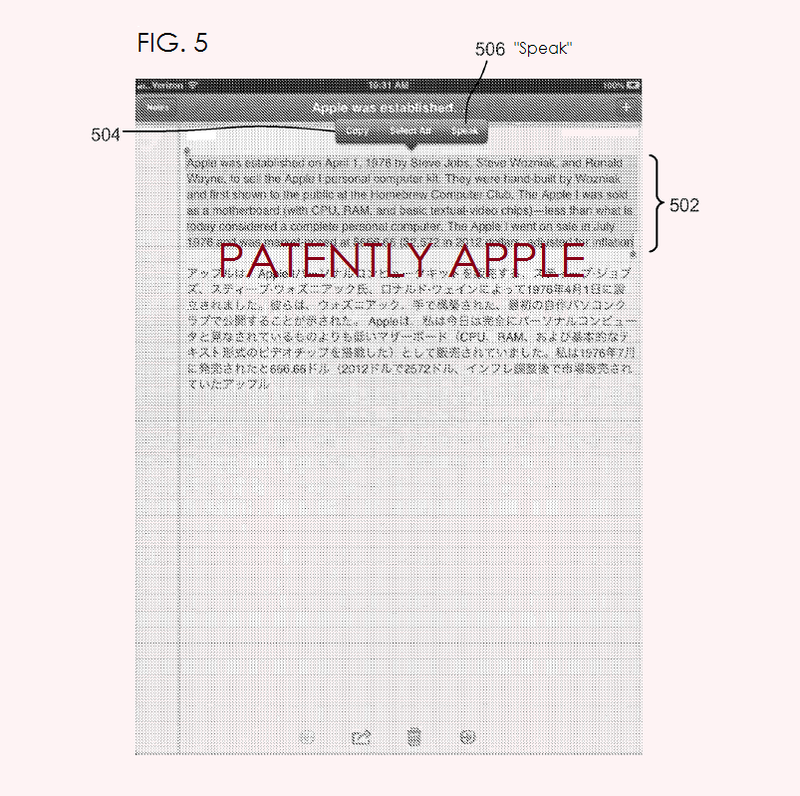 4. Apple patent covers new Notes App with translation capabilities