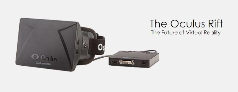 5. Oculus gaming HMD