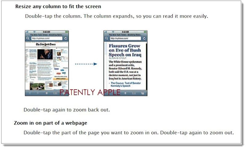 2. Apple webpage describing zoom feature
