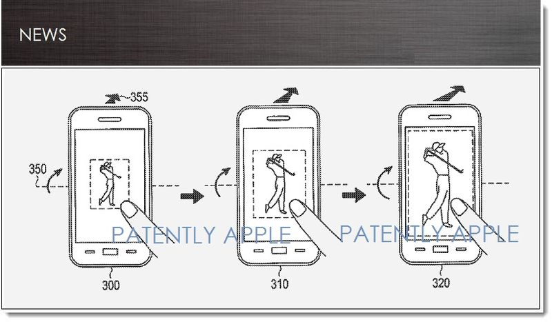 photo image Samsung Files Copycat Patent Mimicking Apple's