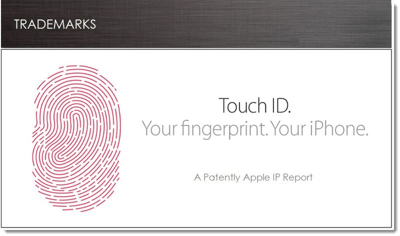 1. Cover - Apple Files for Touch ID