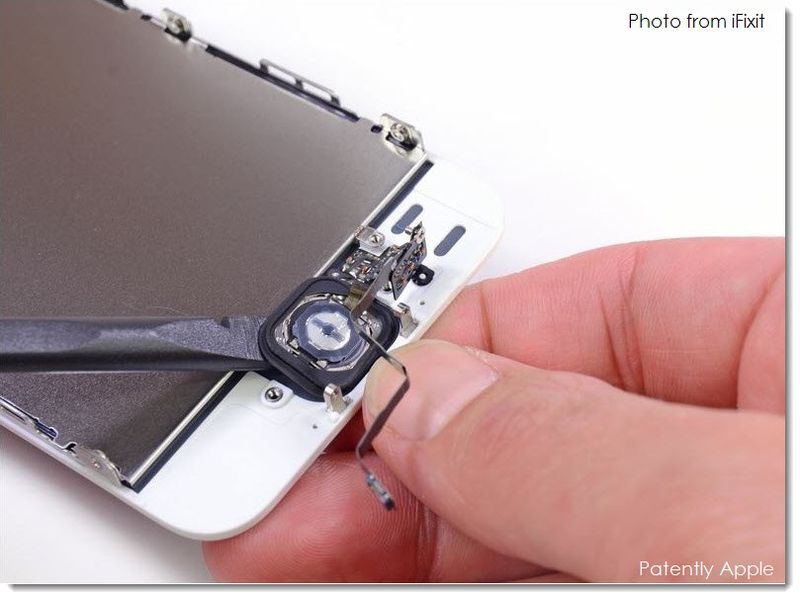 3. Apple's Touch ID - iFixit Photo