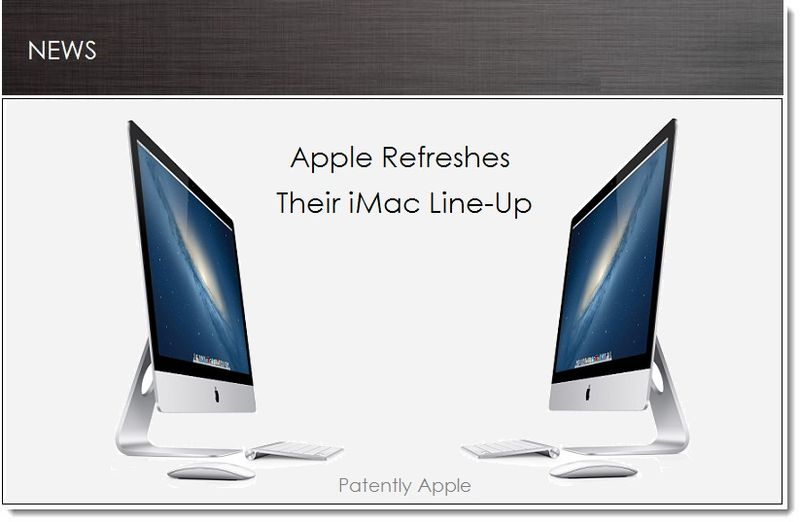 1. Apple Refreshes their iMac Line-Up 9.24.13