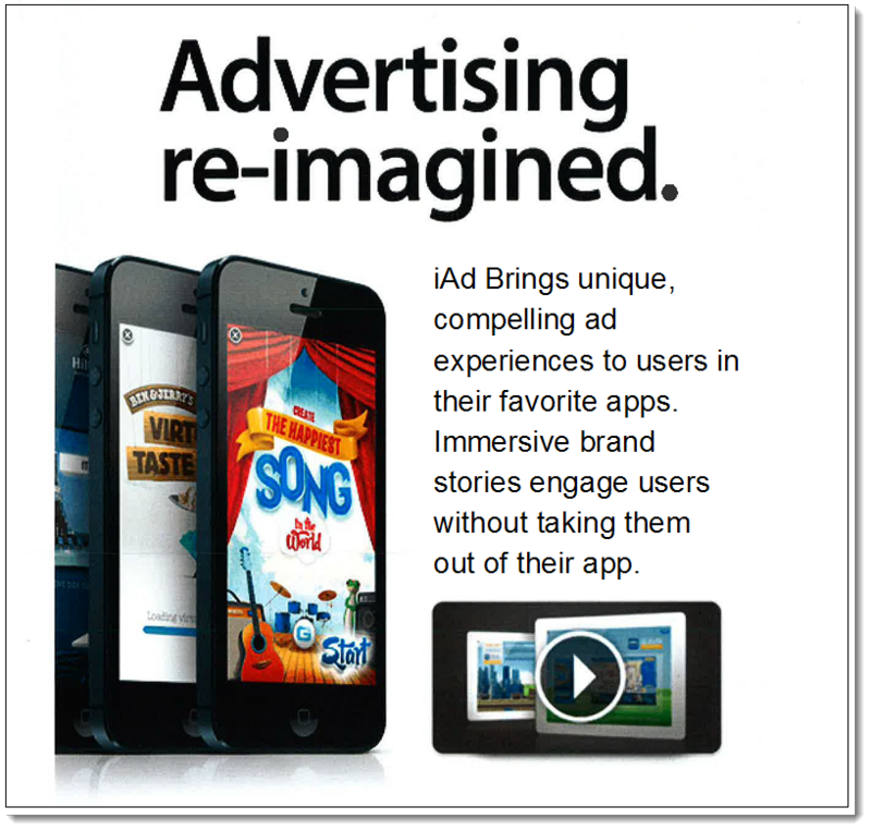 3a. Apple Specimen to USPTO - Advertising Re-Imagined ping