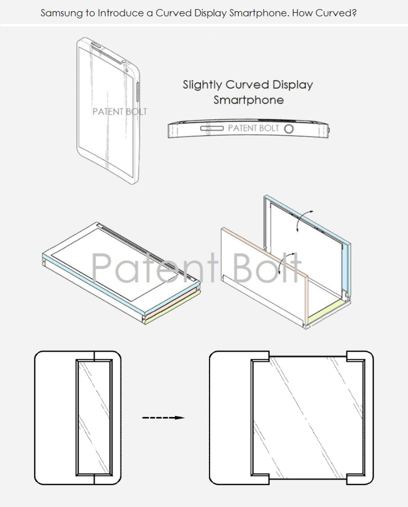 2. Samsung. How curved a display will they introduce