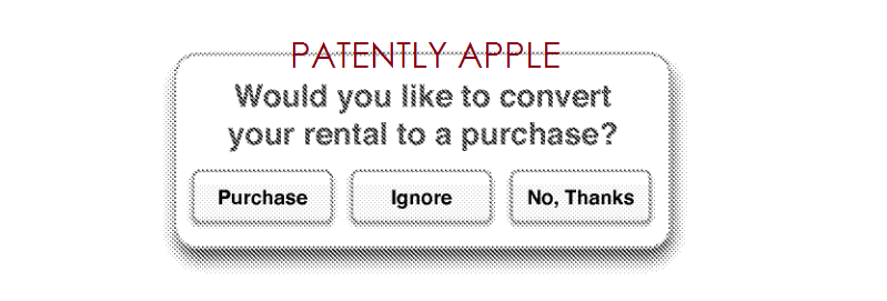 7. Rental to Purchase Option - for movies etc