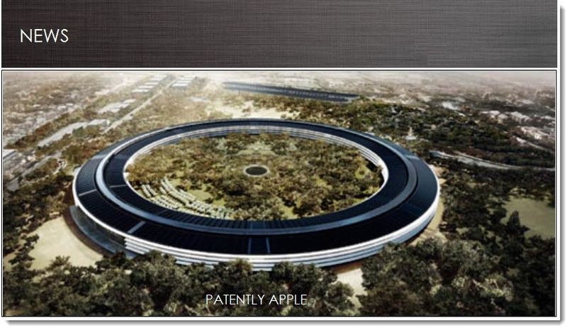 1. cover - Apple's new headquarters in the news