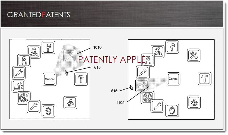 1. Cover - Apple wins patent for Radial Menus